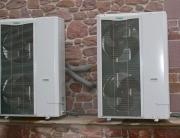 Sistema de climatización Vaillant con fan coil tipo split
