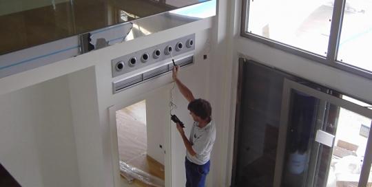 Sistema de climatización de vivienda unifamiliar