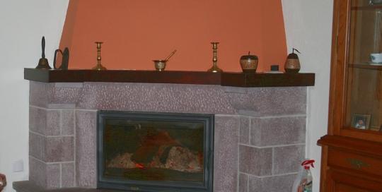 Instalación de calefacción y ACS con fogón con paila