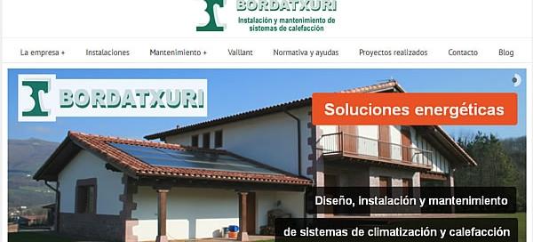 Nueva web Bordatxuri