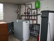 Reforma con instalación de calefacción por radiadores y ACS, con celdera de pellet