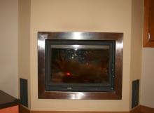 Fogón con paila para sistema ACS y calefacción por suelo radiante.