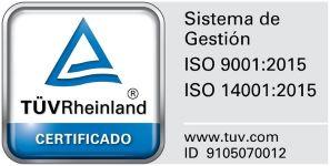 ISO Certificado 2018